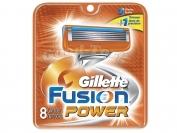 Картриджи Gillette Fusion  POWER, оригинал, 1 уп = 8 шт. (Китай-заводской)