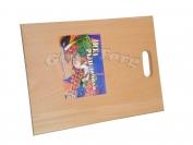 Доска деревянная для нарезки вид N5 23.5см ×34см