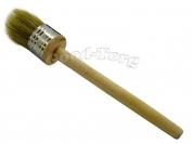 Кисть круглая, №40, 21*4 см, деревянная ручка 1 пач. = 5 шт.