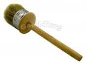 Кисть круглая, №60, 21*6 см, деревянная ручка 1 пач. = 5 шт.