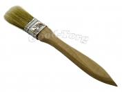 Кисть плоская, утолщенная, №30, 18*3*1.5 см., деревянная ручка. 1 пач. = 5 шт.