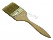 Кисть плоская, тонкая, №70, 19,5*7*0,6 см., деревянная ручка. 1 пач. = 5 шт.