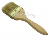 Кисть плоская, утолщенная, №75, 19,5*7,5*1.5 см., деревянная ручка. 1 пач. = 5 шт.